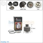 New ! Tobeco Bambino Black Rebuildable Dripping Atomizer (Clone)