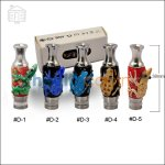 Type D Frog Glass & Stainless Steel Hybrid 510 Drip Tip