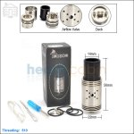 Tobeco Mutilator Stainless Steel Rebuildable Dripping Atomizer (Clone)