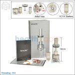 New ! Smok VCT A1 Subohm Atomizer with Single Stainless Coil