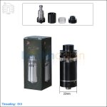 [New product forecasting] Tobeco Silverplay Black Rebuildable Atomizer (Clone)