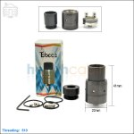 New ! Tobeco Mini Velocity Black Rebuildable Dripping Atomizer (Clone)