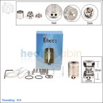 New ! Tobeco Lancia Stainless Steel Rebuildable Dripping Atomizer (Clone)