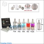 KangerTech AeroTank Mega Glass Clearomizer with Upgraded Bottom Dual Coils (Body with CE Mark)