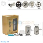 Tobeco Original Turbo Stainless Steel Rebuildable Dripping Atomizer