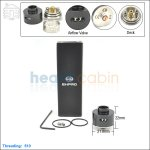 New ! Ehpro Derringer Black Rebuildable Dripping Atomizer (Clone)