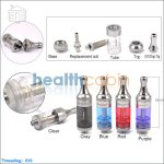 KangerTech Unitank Plastic BCC Clearomizer Top Filling (2.5ml)