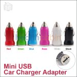 Mini Universal USB Car Charger Adatper (1A)