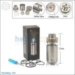 New ! Tobeco Silverplay Stainless Steel Rebuildable Atomizer (Clone)