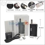 Joyetech Upgraded eGrip 20W VV/VW Black Kit with OLED Screen