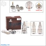 Hcigar Sat22 Stainless Steel Rebuildable Atomizer (clone)