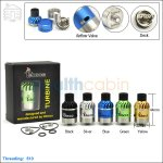 New ! Tobeco Original Turbine Rebuildable Dripping Atomizer
