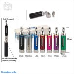 Smoktech T-Dux 3.0 Glass Clearomizer(New Bottom Changeable Ceramic Coil)