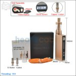 [New product forecasting] Aspire Odyssey Mini Gold Kit