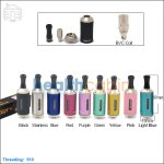 Aspire Vivi Nova-S Glass BVC Clearomizer