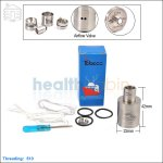 New ! Tobeco Tugboat V2 Brushed Stainless Steel Rebuildable Dripping Atomizer (Clone)