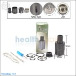 New ! Tobeco Cloud Vape Black Rebuildable Dripping Atomizer (Clone)