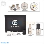 Ehpro Dark Horse Stainless Steel Rebuildable Dripping Atomizer (Clone)