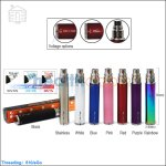Kumiho eGo-C Twist Variable Voltage 400mah Battery