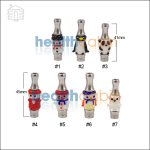 Type F Animal Glass & Stainless Steel Hybrid 510 Drip Tip