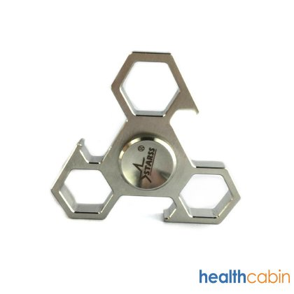 Triangle Hand Spinner Fidget Toy Relieves Anxiety and Boredom can be used as Bottle-opener F03