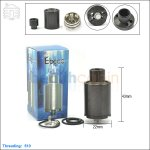 New ! Tobeco Kennedy V4 Black Rebuildable Dripping Atomizer (Clone)