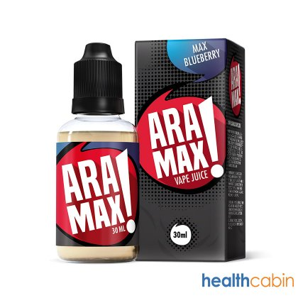 30ml Aramax Max Bluberry E-Liquid (50PG/50VG)
