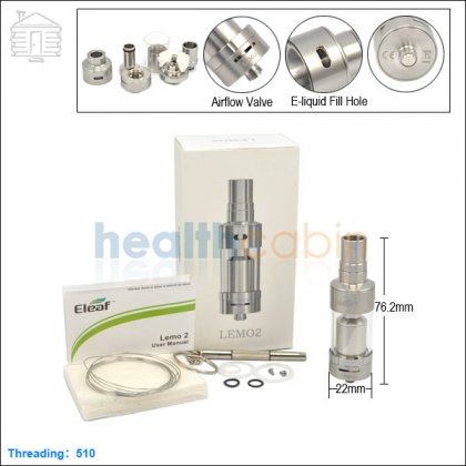 iSmoka Eleaf Lemo 2 Sub Ohm Atomizer 3.8ml