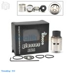 New! Tobeco Original Glasses Stainless Rebuildable Dripping Atomizer