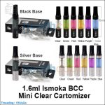 1.6ml Ismoka BCC(Bottom Coil Changeable) Mini Clear Cartomizer