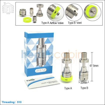 iSmoka Eleaf iJust 2 Sub Ohm Atomizer 5.5ml