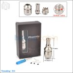 Hcigar Phoenix V6 Stainless Steel Rebuilable Dripping Atomizer (Clone)