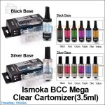 3.5ml Ismoka BCC(Bottom Coil Changeable) Mega Clear Cartomizer