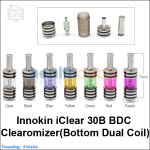 Innokin iClear 30B BDC Clearomizer(Bottom Dual Coil)