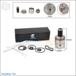New ! Ehpro 454 Big Block SS Rebuildable Dripping Atomizer(Clone)