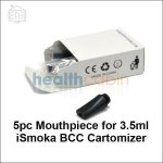 5pc Mouthpiece for 3.5ml iSmoka BCC Cartomizers