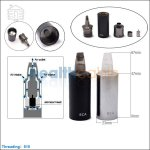 Joyetech eVic ECA Changeable Atomizer (Long)