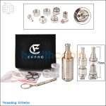 Ehpro Kayfun Lite plus V2 Clone Stainless Steel Rebuildable Atomizer (Only for Advanced User)