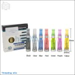 New ! [Non-replaceable] 5pc Innokin iClear 16 eGo Dual Coil Clearomizer (CE4)