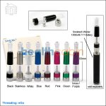 5pc Smoktech Aro II Clearomizer