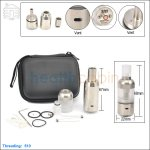 Hcigar Big Dripper Stainless Steel Rebuildable Atomizer Kit (Clone)