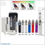 Innokin iTaste EP Starter Kit V2 With Non-replaceable iClear 16 Dual Coil Clearomizer