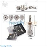 Aspire Nautilus BDC Glass Clearomizers (Adjustable Airflow Tank System)
