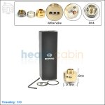 New ! Ehpro Derringer Brass Rebuildable Dripping Atomizer (Clone)