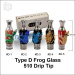 New ! Type D Frog Glass 510 Drip Tip