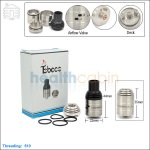 New ! Tobeco Nebula Stainless Steel Rebuildable Dripping Atomizer (Clone)