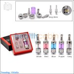 KangerTech Protank-3 Glass Bottom Dual Coil Clearomizer Kit (Gift Packaging)