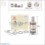 New ! Hcigar Vulcan Stainless Steel Rebuildable Dripping Atomizer (clone)
