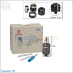 Hcigar Magma Black Rebuildable Dripping Atomizer (Clone)