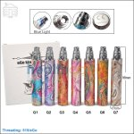 Upgraded Embossed eGo Q 1300mAh Battery (Constant Voltage:3.7v)